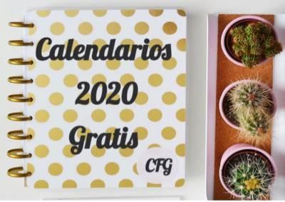 Calendarios Imprimibles 2020 - Gratis