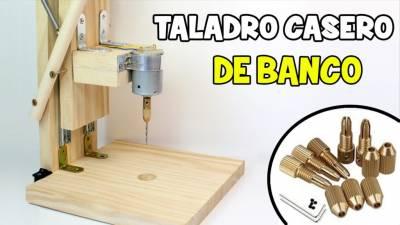 Como hacer un taladro de columna casero para algunas chapuzas de casa