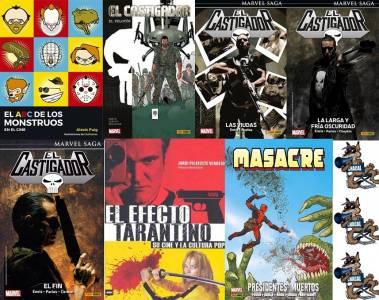 El Abc De Los Monstruos En El Cine, El Castigador (Varios), El Efecto Tarantino Y Masacre: Presidentes Muertos