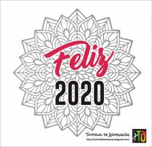 Tutorial de Artesanía: Feliz 2020