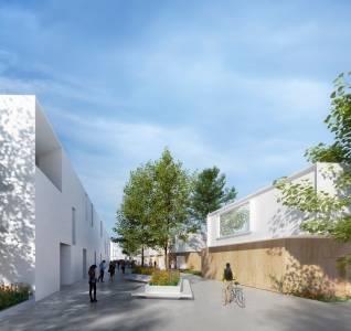 """El proyecto urbanístico sostenible """"Campus Civita"""", en Badajoz, tendrá 'Supermanzanas'"""