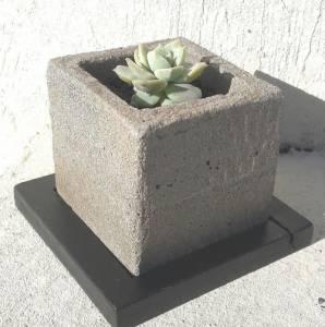 Tutorial de Artesania: Macetas de cemento y algo más