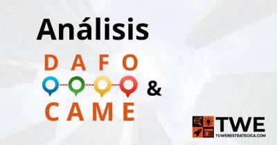 Análisis DAFO, CAME y DAFO cruzado - Tu Web Estratégica