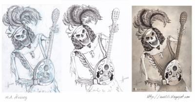 Ilustración: Esqueleto Juglar
