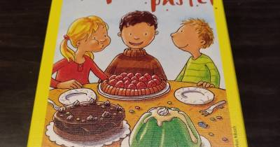 Juego de mesa: soplar el pastel
