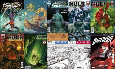 Spiderman: El Fantasma De Jean Dewolff, Yin Y El Dragón, 5 Grapas, Mundo Salvaje Y Daredevil: Lady Bullseye
