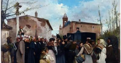 .: La Gloria Del Pueblo De Antonio Fillol Granell-Pintores Valencianos