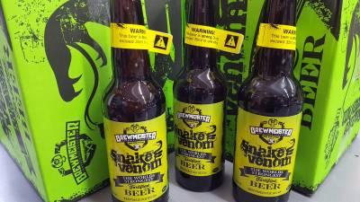 La cerveza más potente del mundo (Snake Venom)
