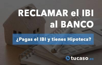 Un Abogado demanda a los BANCOS para que asuman el IBI de pisos y casas con hipoteca