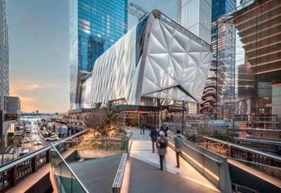 Arquitectura y arte se fusionan en el centro The Shed de Nueva York