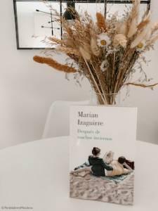 Reseña de 'Después de muchos inviernos' de Marian Izaguirre. Perdida entre mis libros. Blog literario