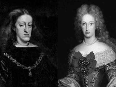 Carlos II y el camón dorado