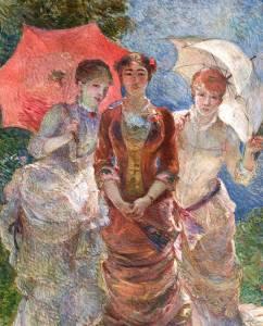 Las 4 pintoras del movimiento Impresionista. La mirada femenina