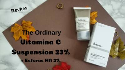 The Ordinary Vitamina C En Suspension Al 23% Con Esferas Ha 2% (Mini Review)
