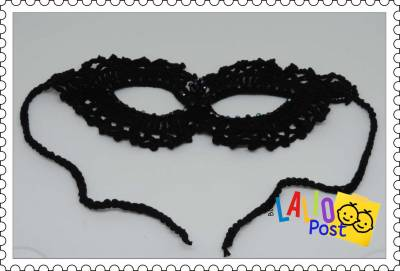 Antifaz de Carnaval: ideas originales en crochet