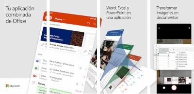El nuevo Microsoft Office disponible en Google Play