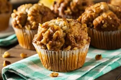 Muffins de plátano y manzana | BABYCOCINA