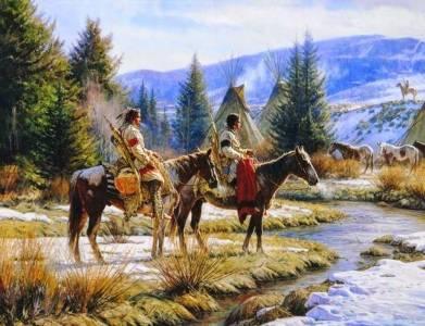 Los Guerreros Del Arco Iris. Leyenda De Los Indios Cree