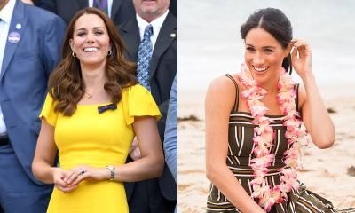 Los looks premamá de Meghan Markle y Kate Middleton (VIDEO)