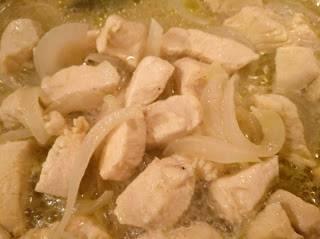 Receta pollo en salsa
