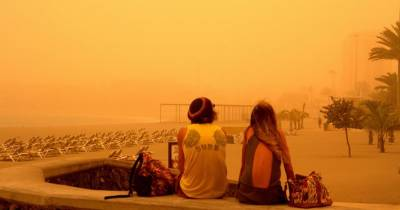 Acorde con la vida: 'Una Tormenta de Calima, Asalta las Islas Canarias'