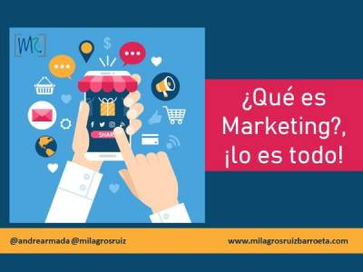 ¿Qué es Marketing?, ¡lo es todo! - Milagros Ruiz Barroeta