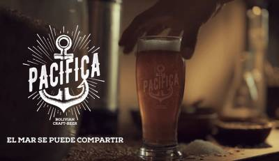 Cerveza hecha con agua de mar (Pacífica)