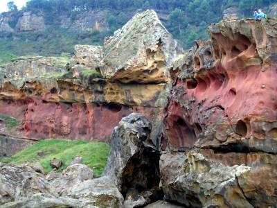 Jaizkibel: los gusanos gigantes de piedra