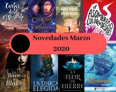 Novedades marzo 2020 – Mundos fantásticos