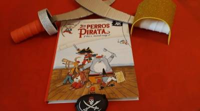 Los perros Pirata, ¡Adiós Mendrugos! - Libros infantiles - Mochila de Eric