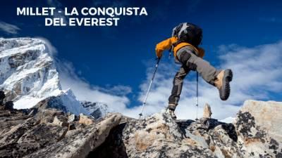 ▷ Millet - La Conquista del Everest - El Blog de las Marcas Montañeras