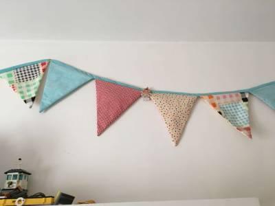 Tutorial Banderines tela | Trocitos de vida