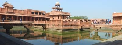 Fatehpur Sikri, retales de la capital imperial de la India