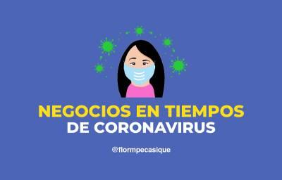 Recomendaciones para Negocios en tiempos de Coronavirus