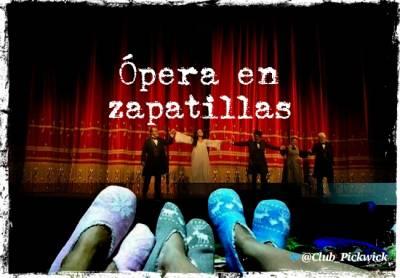 Letras Prestadas: Ópera en zapatillas