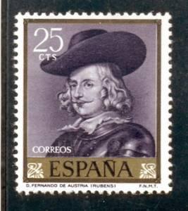 Rubens en la emisión de #sellos de España del año 1962