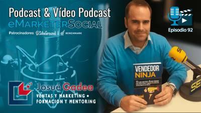 092 Josué Gadea autor de Vendedor Ninja y Venta por Valor
