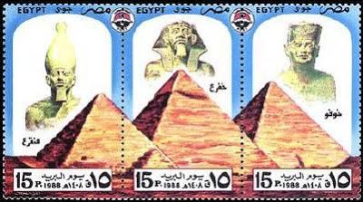 Las Pirámides de Gizeh, primera maravilla del Mundo Antiguo