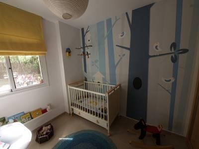 Papel pintado en habitaciones infantiles