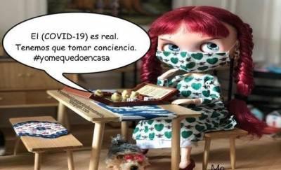 El (COVID-19) es real. Tenemos que tomar conciencia. #yomequedoencasa