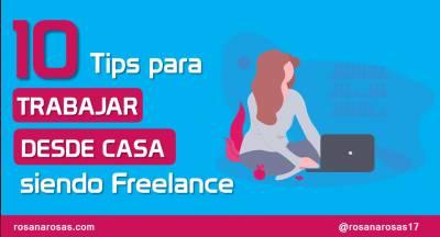 10 Tips para trabajar desde casa siendo freelance