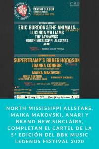 North Mississippi Allstars, Maika Makovski, Anari y Brand New Sinclairs, completan el cartel de la 5ª edici�…
