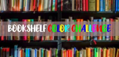 Booktag #17: Bookshelf Color Challenge