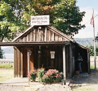 Oficina Postal de la ciudad fantasma de Bridal Veil, en Oregon
