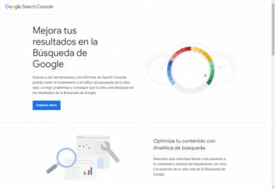 Google Search Console ¿Qué es y para qué sirve? - Nikana Diseño Web