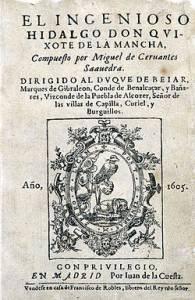 Año Internacional del Libro del año 1972 y la Edición Príncipe del Quijote