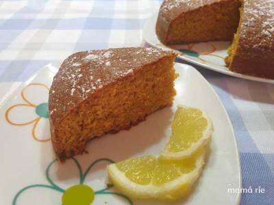 Bizcocho de Limón casero. Dos recetas, con y sin yogur