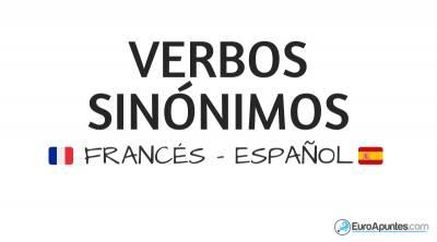 Verbos iguales en francés y español