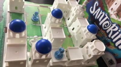 Santorini el juego de mesa