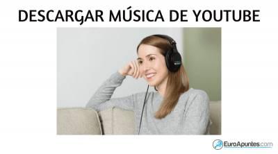 ¿Cómo descargar música rápido y fácil?